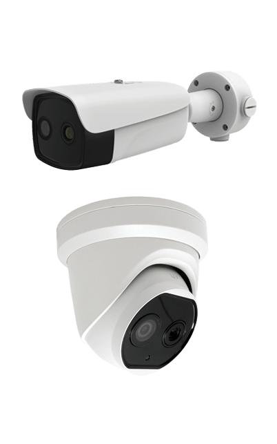 Bullet & Turret Cameras - Body Temperature Detection and Monitoring